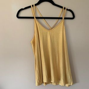 NWT🔥2 for 20🔥 Eclipse strappy mustard tank
